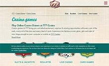 777 Casino casino Arvostelu kuvakaappaus  toripelit.com 1