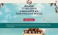 777 Casino casino Arvostelu kuvakaappaus  toripelit.com 2