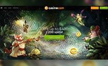 Casino.com casino Arvostelu kuvakaappaus  toripelit.com 3