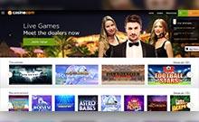 Casino.com casino Arvostelu kuvakaappaus  toripelit.com 1