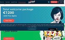 CasinoPop casino Arvostelu kuvakaappaus  toripelit.com 2
