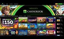 CasinoLuck casino Arvostelu kuvakaappaus  toripelit.com 4