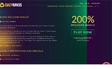 CrazyWinners casino Arvostelu kuvakaappaus  toripelit.com 2