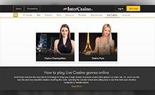 Intercasino casino Arvostelu kuvakaappaus  toripelit.com 4