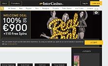 Intercasino casino Arvostelu kuvakaappaus  toripelit.com 1