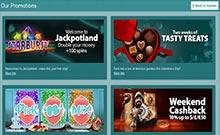 Jackpotland casino Arvostelu kuvakaappaus  toripelit.com 2