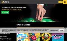 Mega Casino casino Arvostelu kuvakaappaus  toripelit.com 2