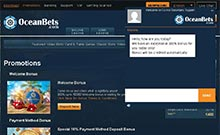 Oceanbets casino Arvostelu kuvakaappaus  toripelit.com 2