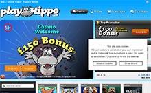 PlayHIppo casino Arvostelu kuvakaappaus  toripelit.com 2
