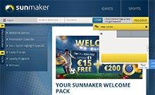 Sunmaker casino Arvostelu kuvakaappaus  toripelit.com 3