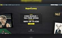 SuperLenny casino Arvostelu kuvakaappaus  toripelit.com 2