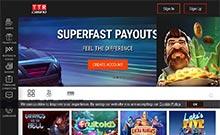 TTR casino Arvostelu kuvakaappaus  toripelit.com 2