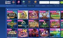 Casino Heroes casino Arvostelu kuvakaappaus  toripelit.com 3