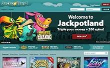 Jackpotland casino Arvostelu kuvakaappaus  toripelit.com 1
