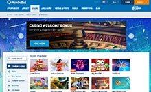 NordicBet casino Arvostelu kuvakaappaus  toripelit.com 3