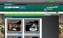 Paddy Power casino Arvostelu kuvakaappaus  toripelit.com 2