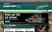 Paddy Power casino Arvostelu kuvakaappaus  toripelit.com 1