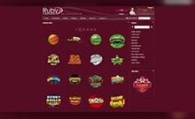 Ruby Fortune casino Arvostelu kuvakaappaus  toripelit.com 4