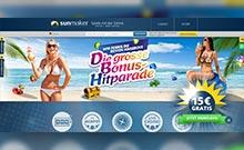 Sunmaker casino Arvostelu kuvakaappaus  toripelit.com 4