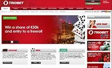 Triobet casino Arvostelu kuvakaappaus  toripelit.com 3