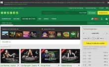 Unibet casino Arvostelu kuvakaappaus  toripelit.com 3