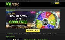 888 Casino casino Arvostelu kuvakaappaus  toripelit.com 3