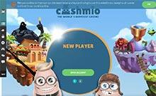 Screen by casino Cashmio