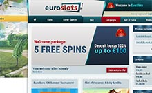 EuroSlots casino Arvostelu kuvakaappaus  toripelit.com 3