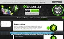 Screen by casino Mobilbet