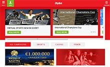 Olybet casino Arvostelu kuvakaappaus  toripelit.com 1