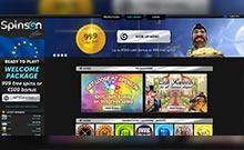 Spinson casino Arvostelu kuvakaappaus  toripelit.com 3
