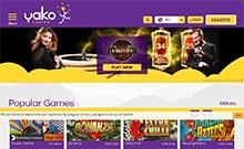 YakoCasino casino Arvostelu kuvakaappaus  toripelit.com 1