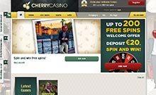 Cherry casino Arvostelu kuvakaappaus  toripelit.com 2