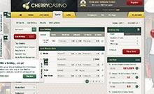 Cherry casino Arvostelu kuvakaappaus  toripelit.com 4