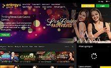 Energy casino Arvostelu kuvakaappaus  toripelit.com 1