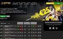 Energy casino Arvostelu kuvakaappaus  toripelit.com 2