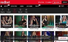Redbet casino Arvostelu kuvakaappaus  toripelit.com 1
