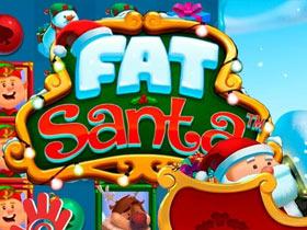 Voita osuus 5000 punnasta Fat Santa slotissa BetVictor Casinolla