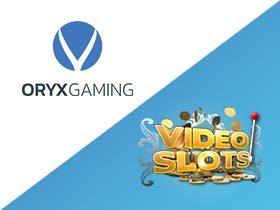 Oryx Gaming yhteistyöhön Videoslotsin kanssa